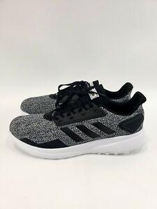 Men-s-ADIDAS-DURMO-Black-White-BB6917-Running-Shoes-Sneakers-Size-10-5