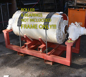 Details about Adjustable lifting and transport frame for conveyor rollers