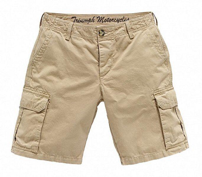 Sale Items Mens Triumph Sand Cargo Shorts
