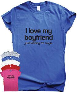 b0e9ceef funny t shirts women men gift humour tee slogan top I love my ...
