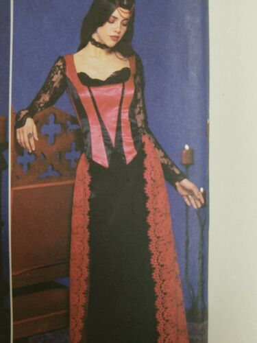 Simplicity 9255 Pattern Costume Collection Medieval Goth Halloween You Pick Size