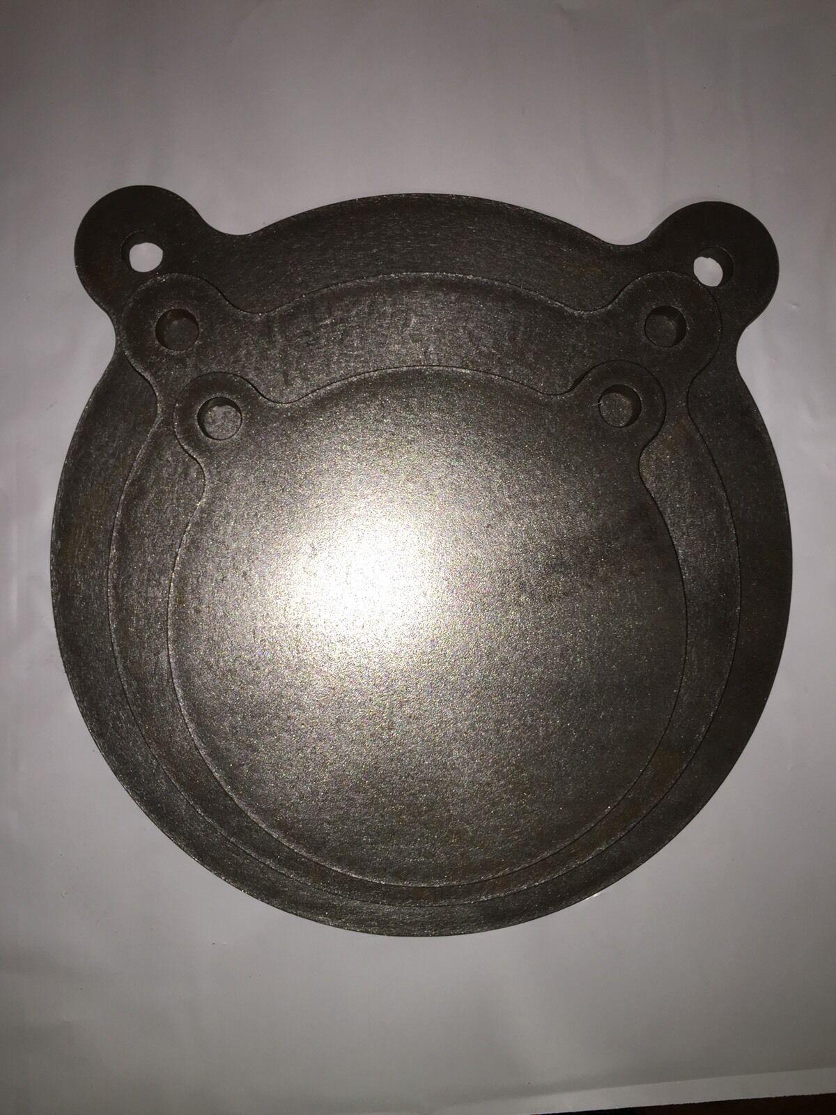AR500 Steel Shooting Target Gong Set 3 8  3pc Set 8,10,12