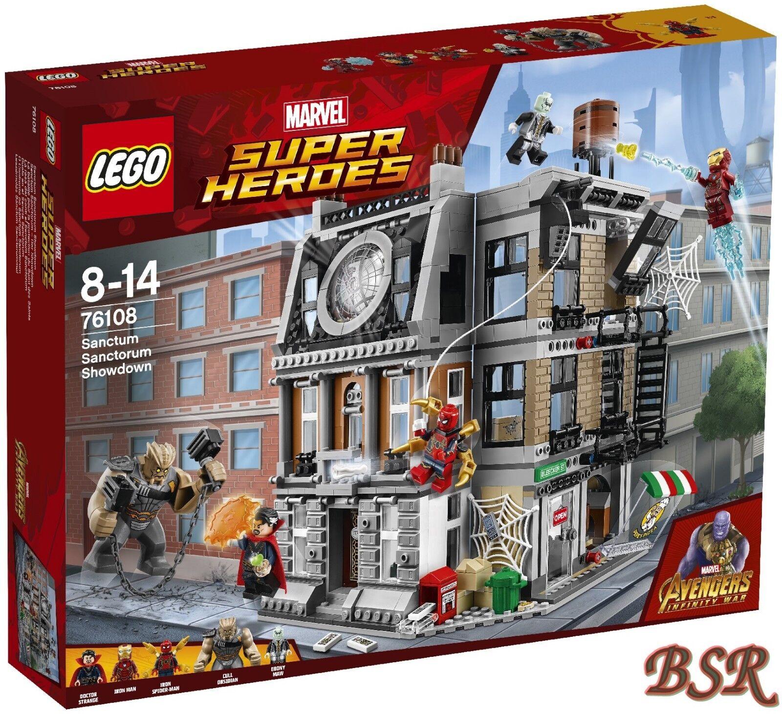 LEGO® Marvel   76108 Sanctum Sanctorum – Der Showdown & 0.- Versand & NEU & OVP