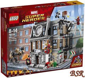 Lego-Marvel-76108-Sanctum-Sanctorum-el-show-down-amp-0-de-envio-amp-nuevo-amp-OVP