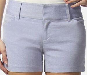 Daisy Fuentes Womens GetAway Get Away City Blue Dyed Yarn Shorts 4 6