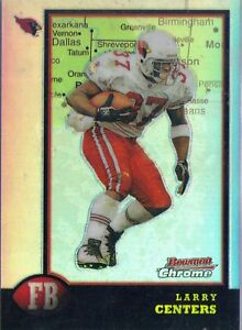 6c5017dd 1998 Bowman Chrome Interstate Refractor - LARRY CENTERS #136 ...