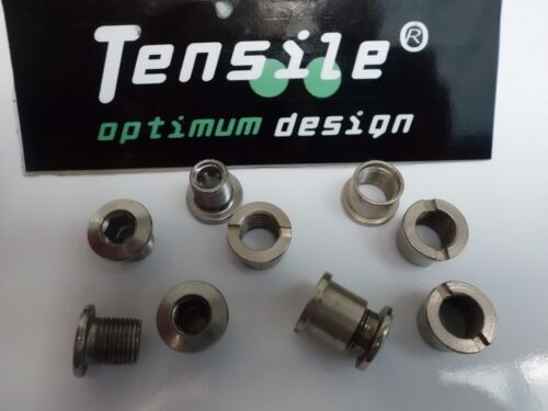 Double,Strong Tensile Chromo Steel Chainring Bolts Light Top Quality NEW
