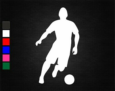 "10cm 3.9/"" Soccer Ball Football Wall Door Window Car Bumper Decor Vinyl Stickers"