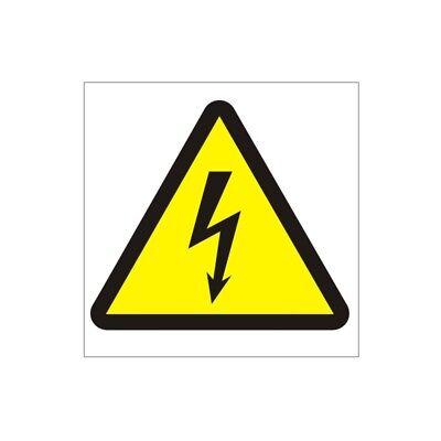 Danger Electricity Sign  150mm x 200mm Rigid Plastic WAE-26W
