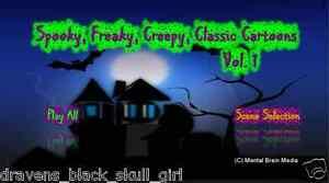 Classic-Halloween-Cartoons-DVDs-Felix-Casper-Betty-Boop-Bugs-Bunny-Popeye-amp-more