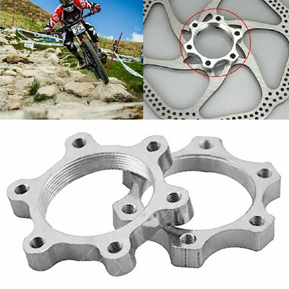 HK- 44/48mm Aluminium Alloy MTB Threaded Hubs Disc Brake Rotor Adapter Base Dura Bicycle Components & Parts