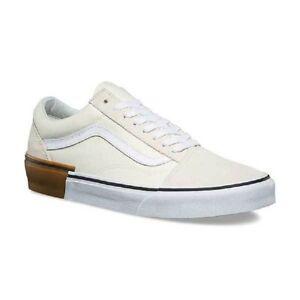 2ef72bff2f42 Vans Old Skool (Gum Block) Classic White Men s 13 191932810192