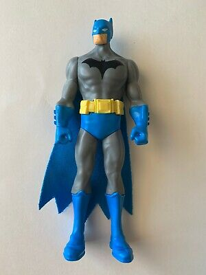 BATMAN Action Figure DC Comics Blue Grey Yellow 6 Inches