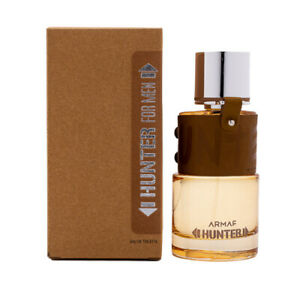 Hunter by Armaf 3.4 oz EDT Cologne for Men New In Box