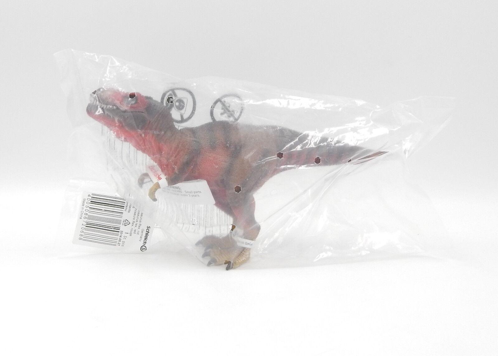 Schleich 72068 - tyrannosaurus rex rot   rot - david dinosaurier - neu - neue