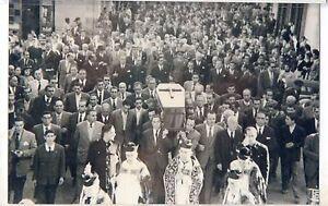 Foto Entierro Ramon Sanchez Pijuan Prersidente Sevilla 28 Octubre 1956 (DH-906)