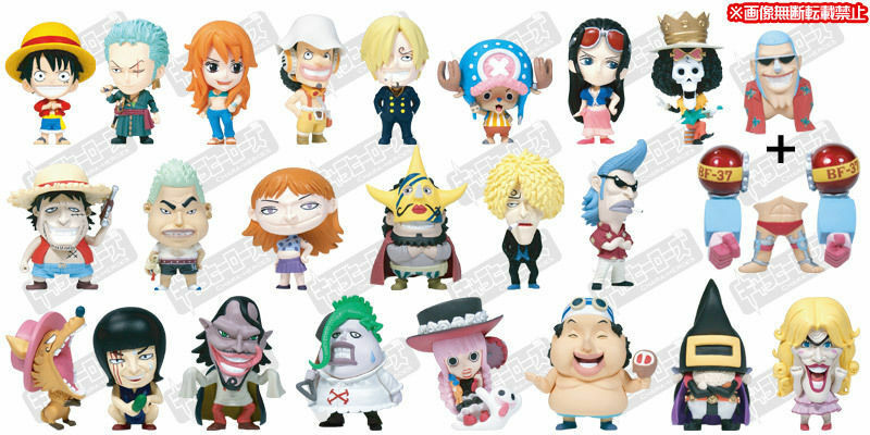 Plex Ani-Chara Heroes One Piece Vol 11 Mini Big Head Figurine Figure Popy World