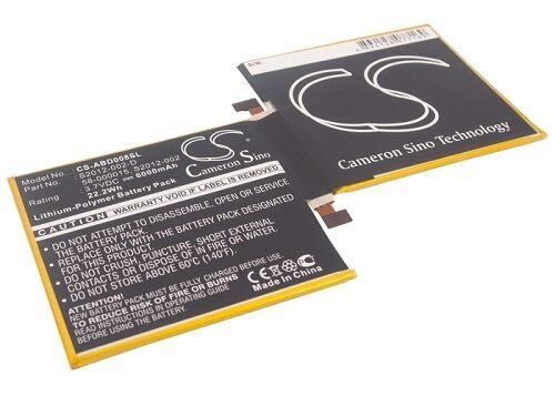 """High Capacity Battery for Amazon Kindle Fire HD 8.9/"""" Inch Tablet"""