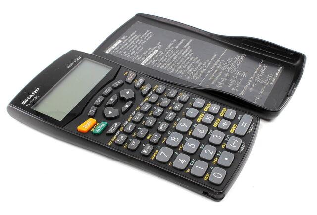 SHARP EL-W535 WriteView Scientific Calculator