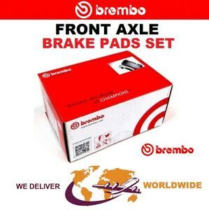 BREMBO Front Axle BRAKE PADS SET for AUDI A8 S8 Quattro 2006-2010
