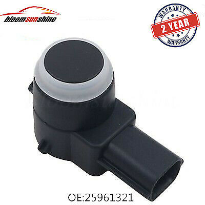 NEW Rear Parking Sensor PDC For GM 25961317 15239247 With O-ring White or Black