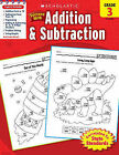Scholastic Success with Addition & Subtraction, Grade 3 by Danette Randolph (Paperback / softback)