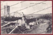 MILANO TREZZO SULL'ADDA 04 CASTELLO Cartolina viaggiata 1912