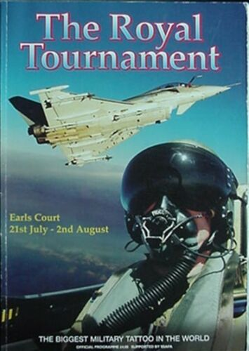 1998 ROYAL TOURNAMENT PROGRAMME ROYAL AIR FORCE 80TH ANNIVERSARY