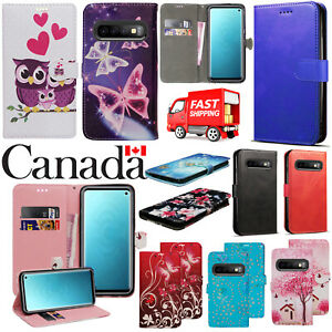 For-Samsung-Galaxy-S6-S7-Edge-S8-S9-Plus-S10-Plus-Flip-Leather-Wallet-Cover-Case