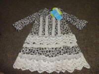 Boutique Little Mass 2t Heart Crochet Dress