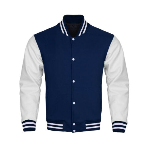 Supreme Varsity Letterman Baseball Collage Bomber Jacket Fleece /& Faux Leather