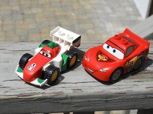 Lego Duplo Disney Pixar Cars Lightning Mcqueen Francesco Race Car