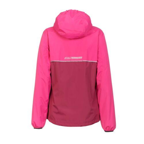Womens Rain Jacket Pink Waterproof Hiking Jacket Killtec Siema 29483 NEW