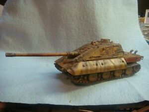 "Jagdpanzer E-100 ""Krokodil"" 1/72 resin model tank (World ..."