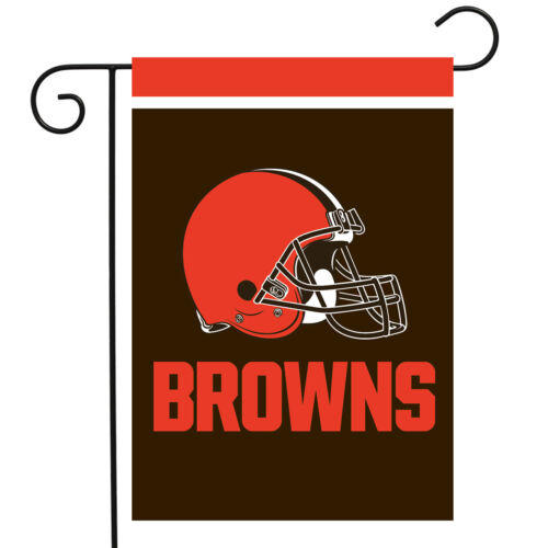 "Cleveland Browns Garden Flag NFL Licensed 12.5/"" x 18/"" Briarwood Lane"