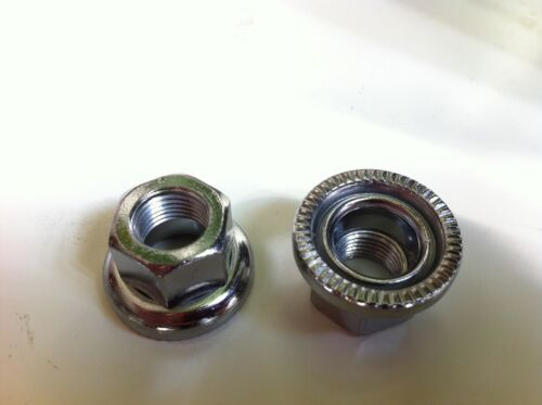 2Pcs Original Track Bike Axle Nuts 9MM x1 or 10MM X 1 Gear Single Speed