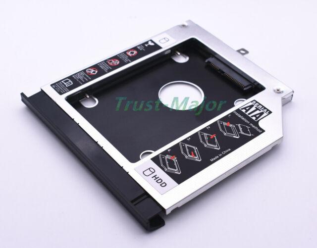 Second SSD Hard Drive Caddy Ultrabay SLIM For Lenovo Y410 Y510P Y510PT Z400 Z500