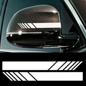 Sportstreifen-Aufkleber-Sticker-Motorsport-Racing-Aussenspiegel-Rennstreifen-Auto