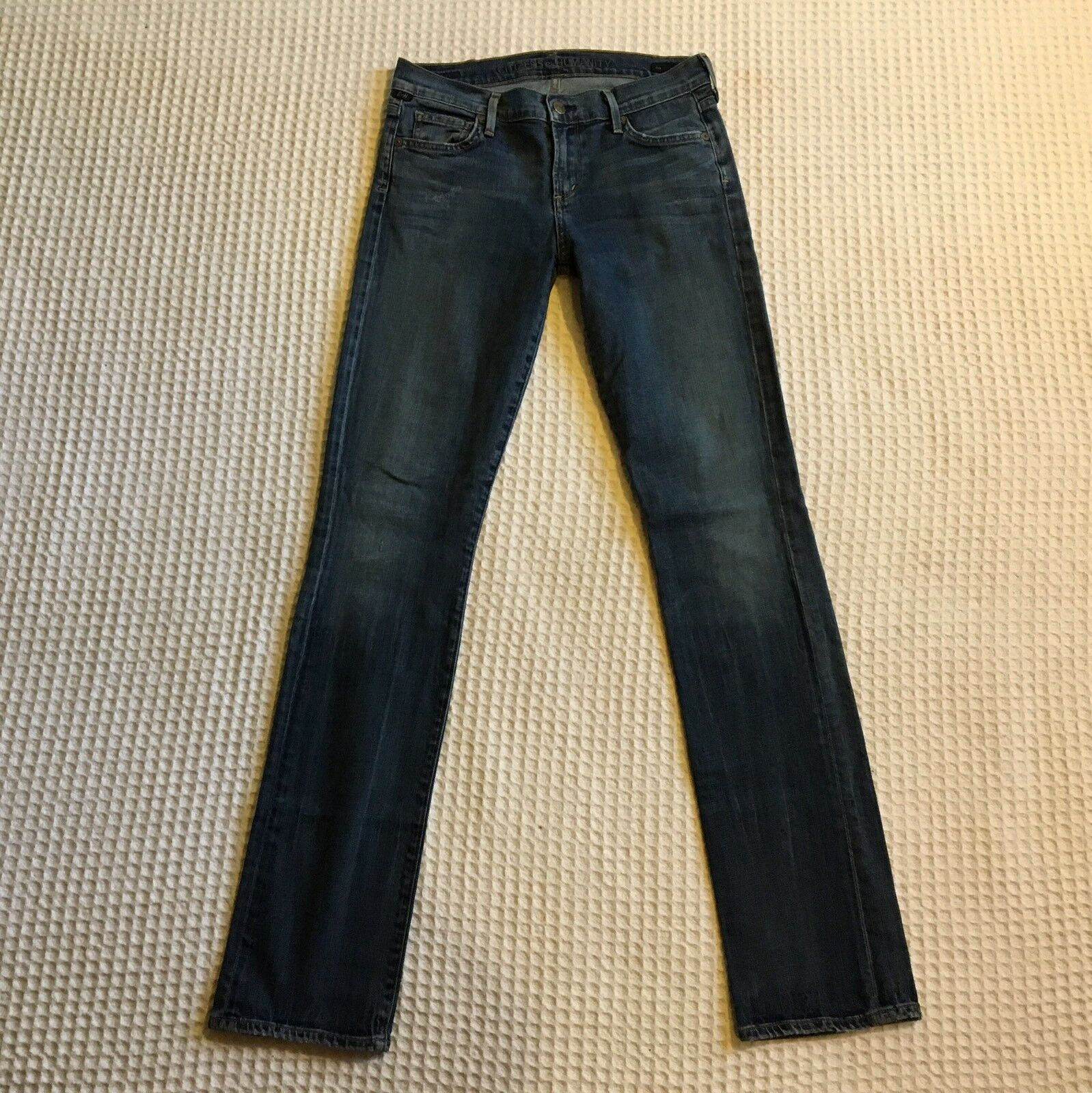 COH Citizens Of Humanity  189 AVA Low Rise Straight Leg Jeans 28