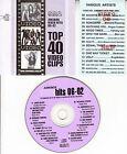 VCD VIDEO CD JAMES BLUNT SUGABABES ROB THOMAS SANTANA KAISER CHIEFS JAMIROQUAI