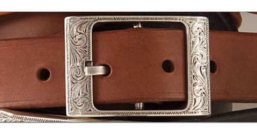 7859-02 LARAMIE BUCKLE 1-1//4in Antique Silver WBL