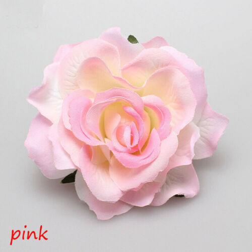 Accessories Party Bridesmaid Women Hair Clip Wedding Rose Flower Hairpin Brooch