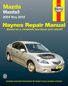 mazda 3 repair manual haynes manual workshop manual 2004 2012 ebay rh ebay co uk haynes repair manuals mazda 3 2004 haynes repair manuals mazda 3 2013