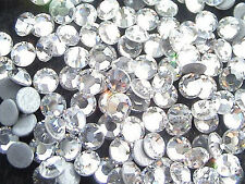 1440 Iron-On Hot Fix Flatback Machine Cut Glass Rhinestones Gem Beads 10ss 3mm