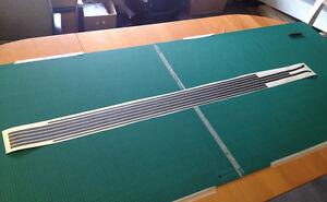 MK2 Golf GTI Swage Line Decals DARK GREY, VW *NEW* 3m Original Material