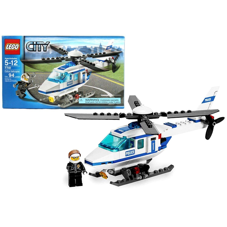 LEGO LEGO LEGO 7741 City Police Helicopter w Mini Figure 94
