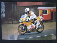 Photo HB Honda RS250 1986 #40 Harald Eckl (GER)