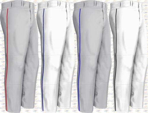 Easton Youth Boy/'s Rival Baseball Pantalon avec passepoil galon fond ouvert A164562