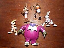 RARE Warner Bros Space Jam Buggs Bunny Swackhammer Lola Jordn figure toy playset