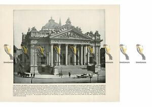Bourse-Brussels-Belgium-Book-Illustration-Print-1899